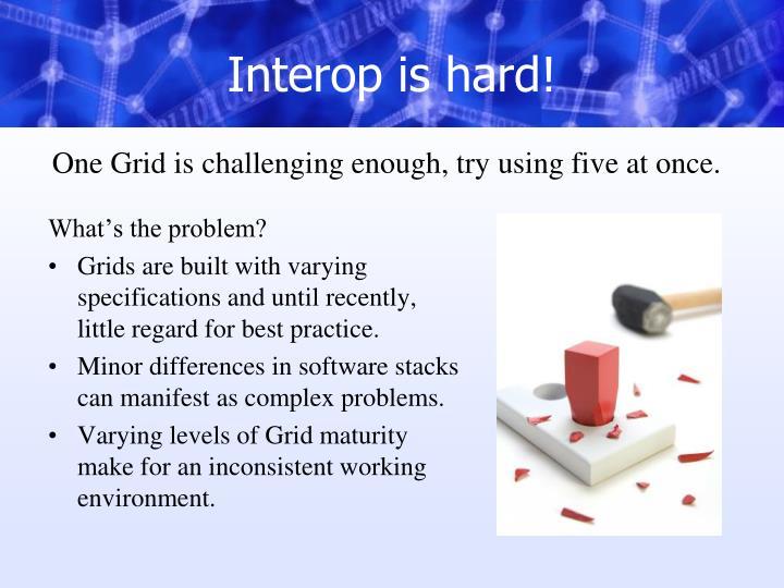 Interop is hard!