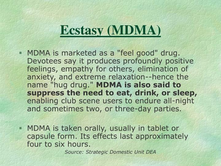 Ecstasy (MDMA)