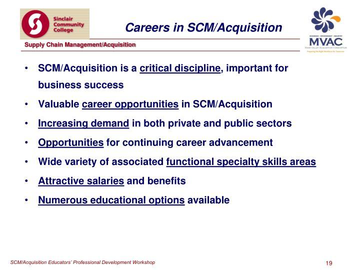 SCM/Acquisition is a