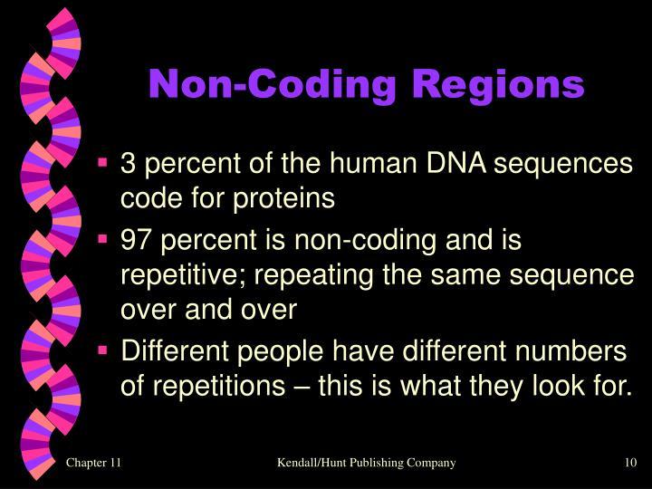 Non-Coding Regions