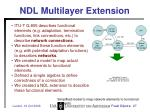 ndl multilayer extension