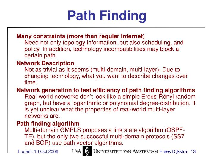 Path Finding