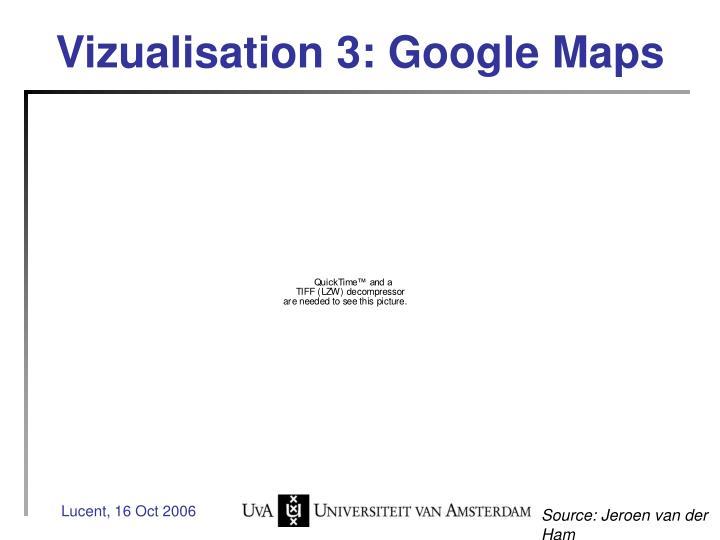 Vizualisation 3: Google Maps