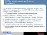 cct for environmental applications conclusions