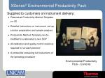 xseries ii environmental productivity pack