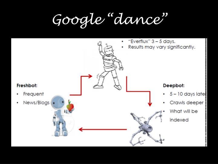 "Google ""dance"""