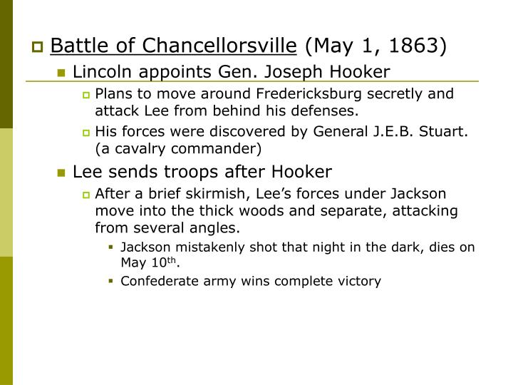 Battle of Chancellorsville
