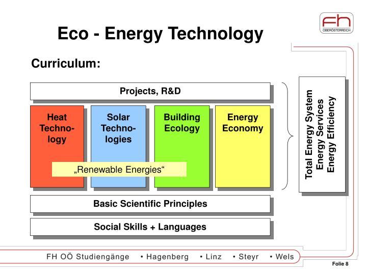 Eco - Energy Technology