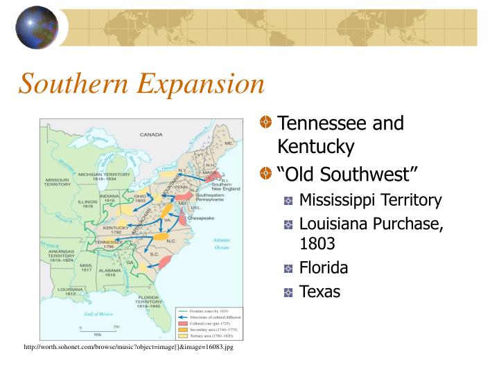 Southern expansion