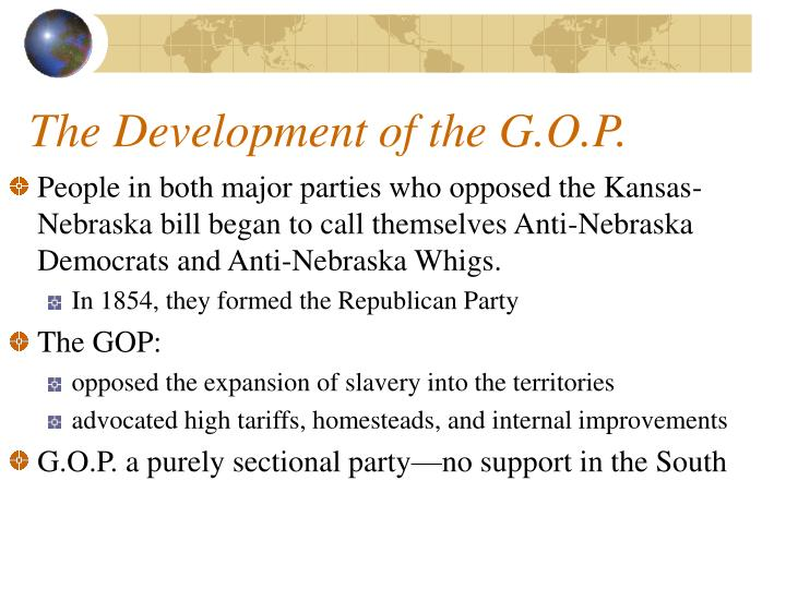 The Development of the G.O.P.