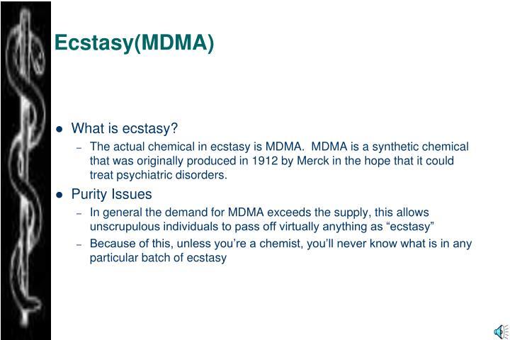Ecstasy(MDMA)