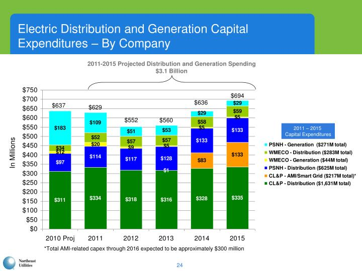 Electric Distribution and Generation Capital