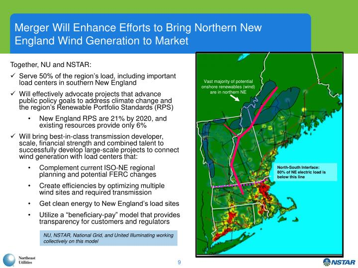Merger Will Enhance Efforts to Bring Northern New England Wind Generation to Market