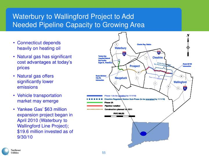 Waterbury to Wallingford Project to Add