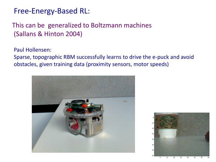Free-Energy-Based RL: