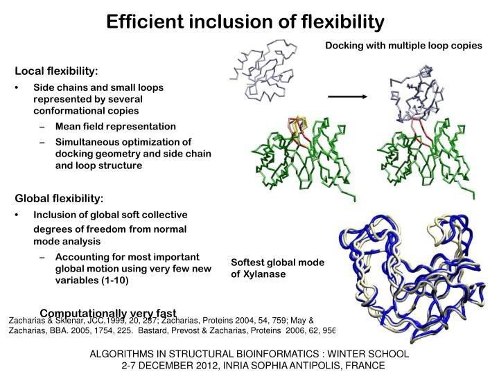 Efficient inclusion of flexibility