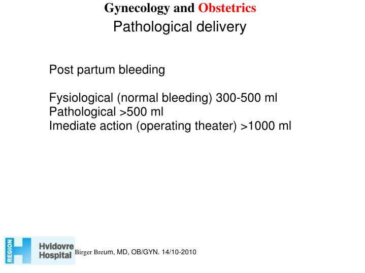 Gynecology and