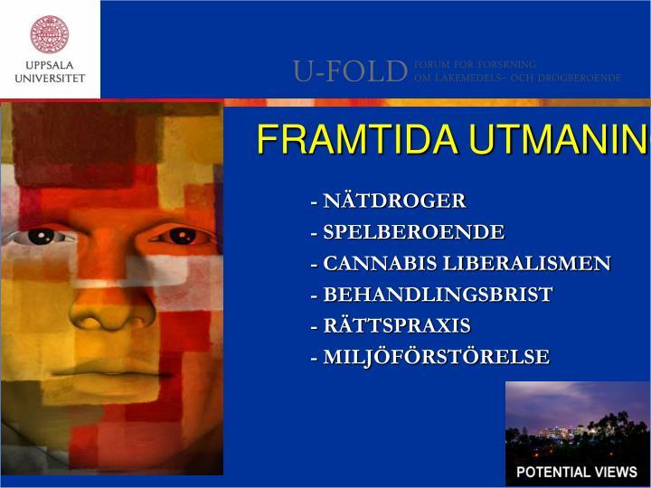 FRAMTIDA UTMANINGAR!