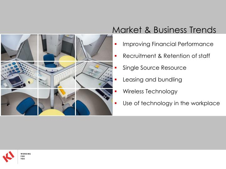 Market & Business Trends