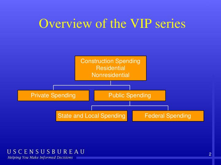 Overview of the VIP series