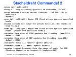 stacheldraht commands 2