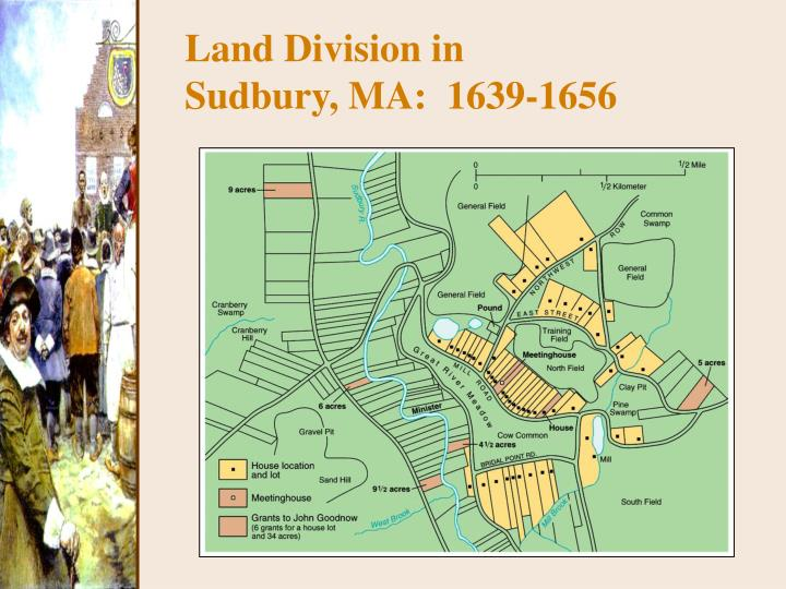Land Division in