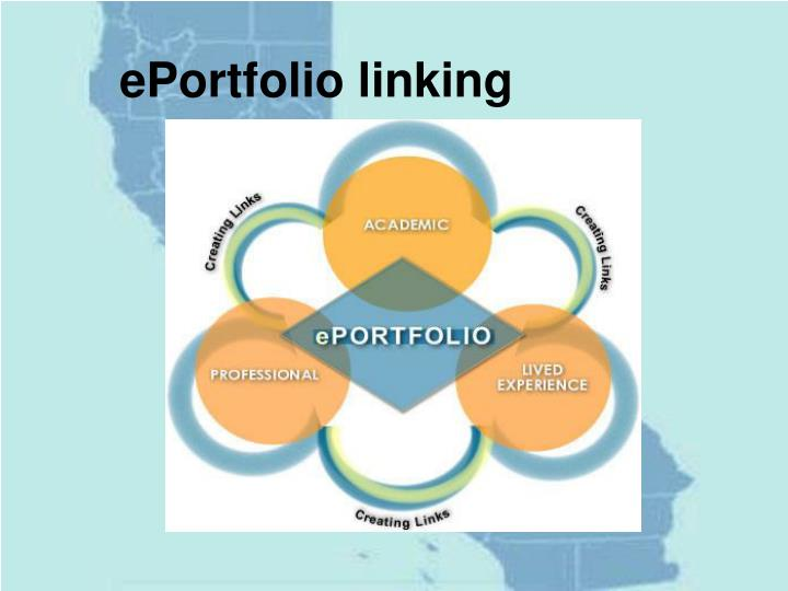 ePortfolio linking