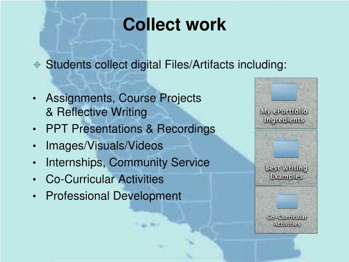 Collect work