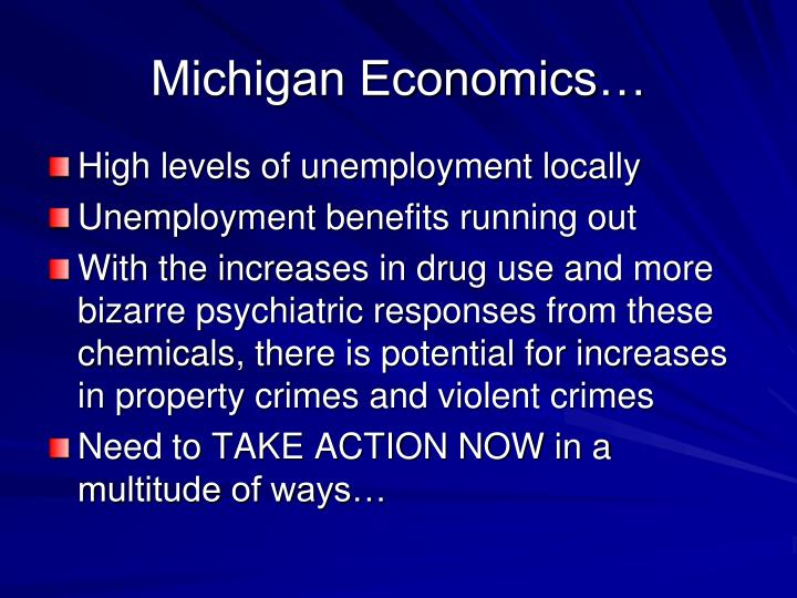 Michigan Economics…