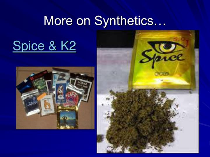 More on Synthetics…