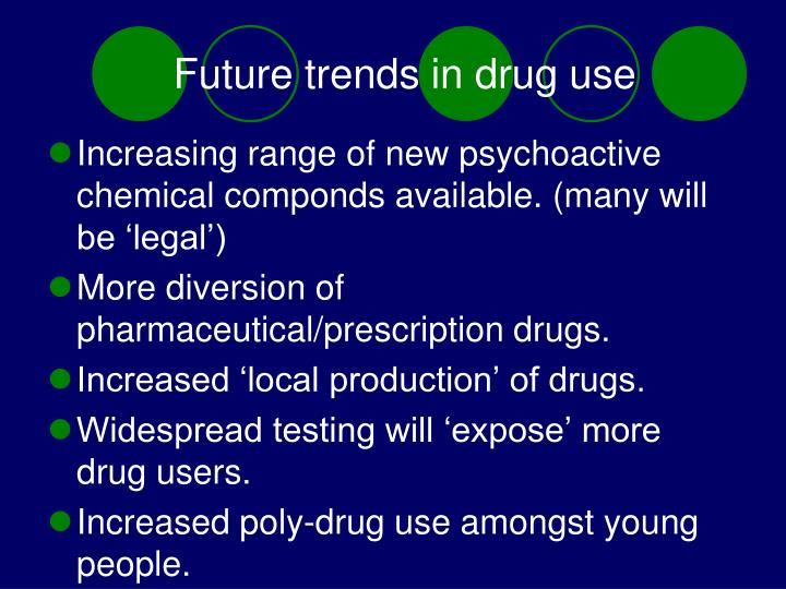 Future trends in drug use