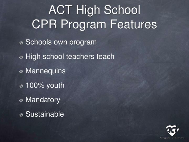 ACT High School