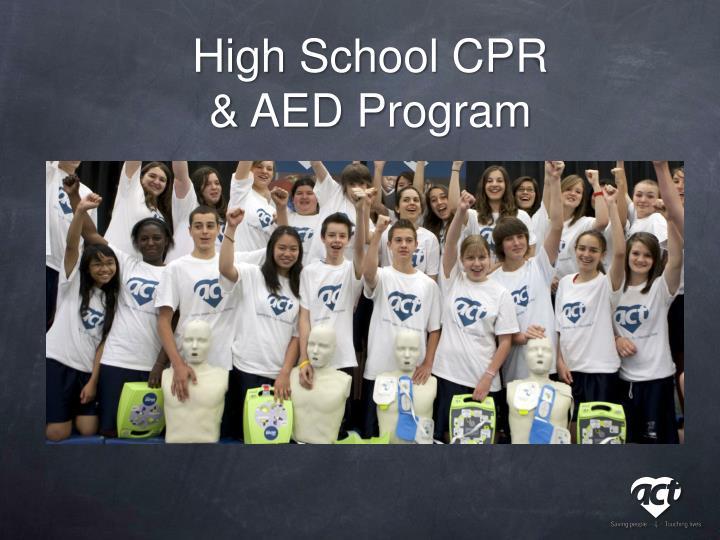 High School CPR