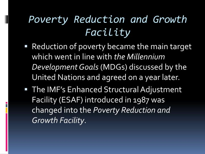 Poverty Reduction and Growth Facility