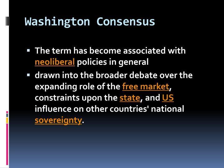 Washington Consensus