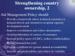 strengthening country ownership 2