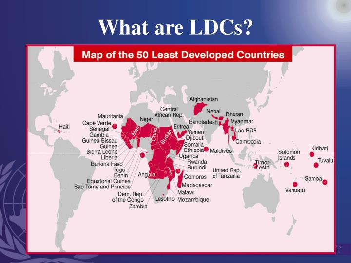 What are ldcs