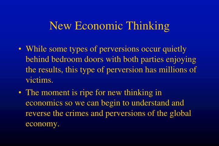 New Economic Thinking