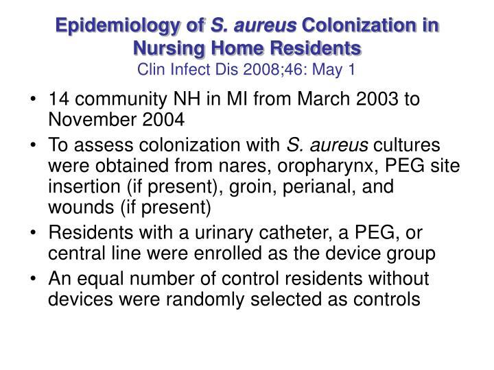 Epidemiology of