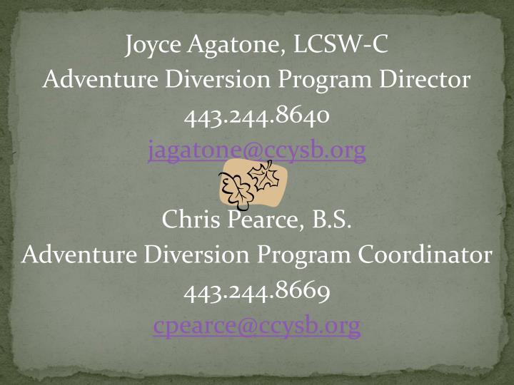 Joyce Agatone, LCSW-C