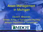 asset management in michigan