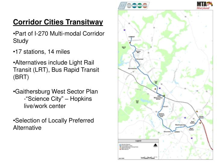 Corridor Cities Transitway