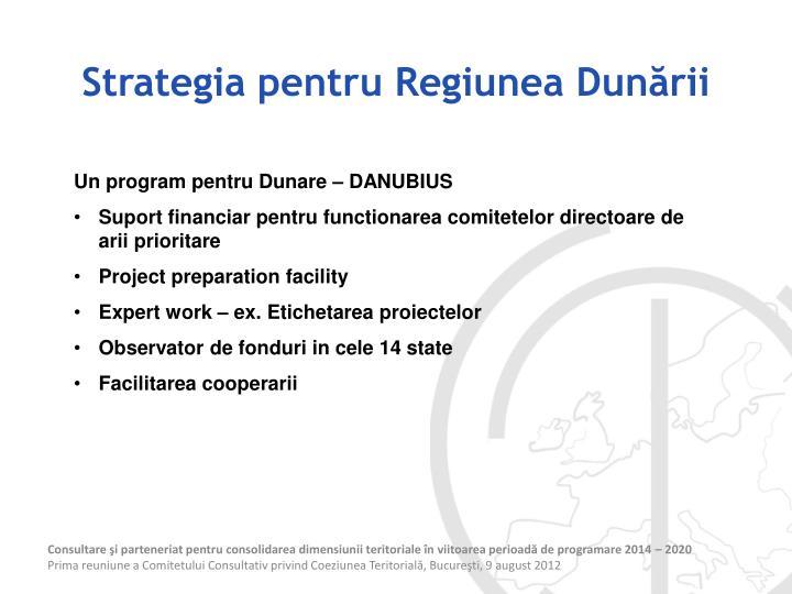 Strategia pentru Regiunea Dunării