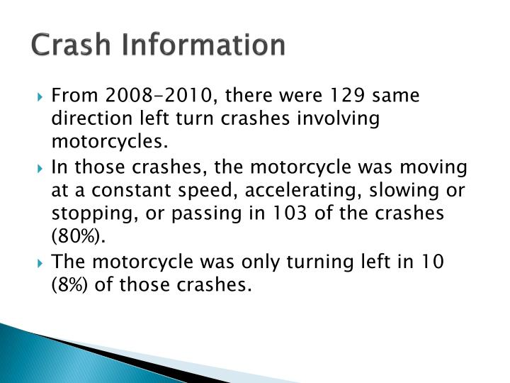 Crash Information