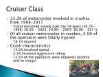 cruiser class