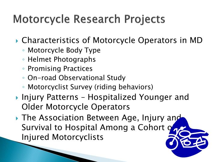 Motorcycle Research Projects