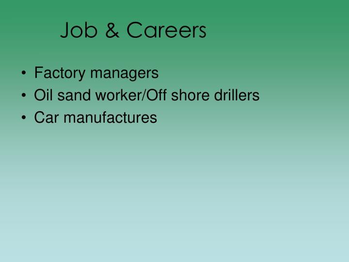 Job & Careers