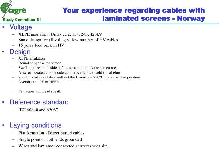 Standards IEC 60840