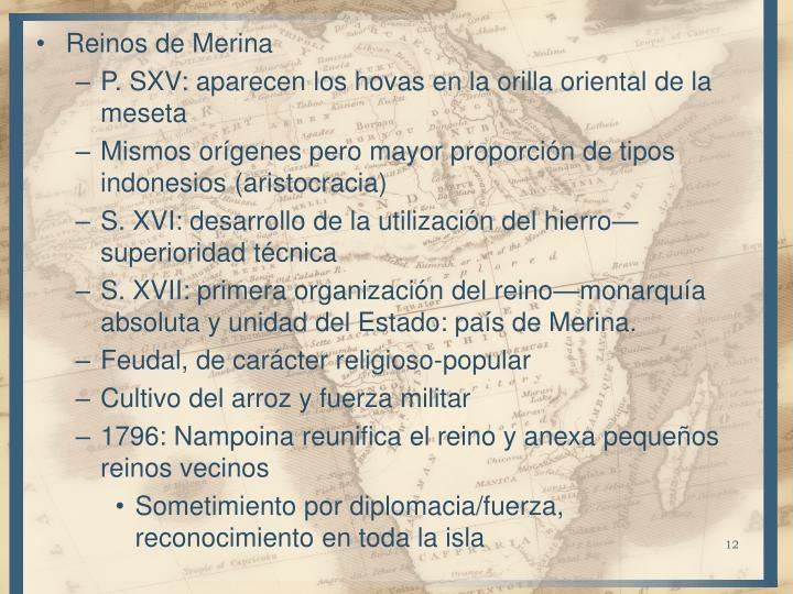 Reinos de Merina
