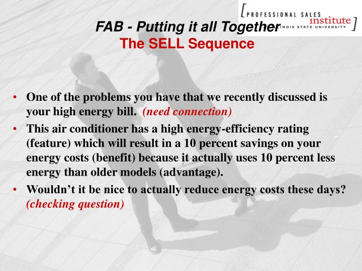 FAB - Putting it all Together